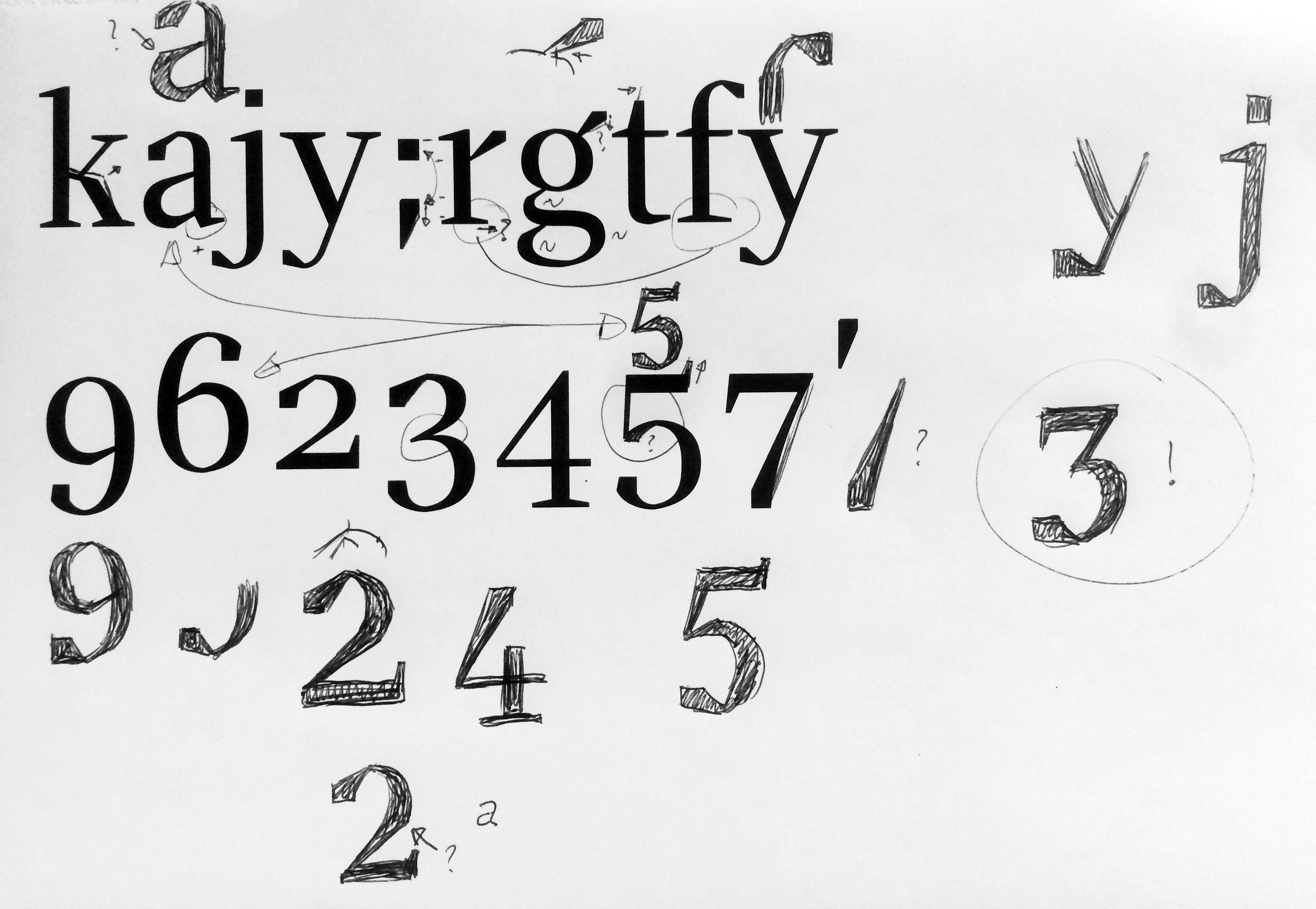 Einführung in die Schriftgestaltung mit Glyphs